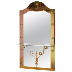 Console Mirror by Pier Luigi Colli FINAL CLEARANCE SALE