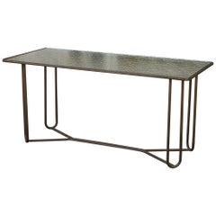Console or Narrow Dining Table by Walter Lamb for Brown Jordan