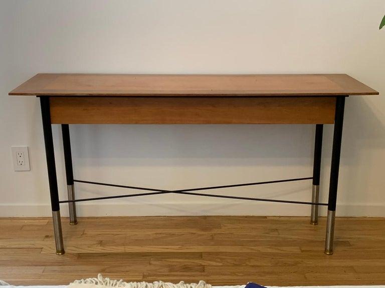 Console Table by Bentley Larosa Salasky for Brickel In Fair Condition In Los Angeles, CA