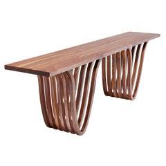"""Console Table"" by Studio Craft Artist Adam Zimmerman, 21st Century"
