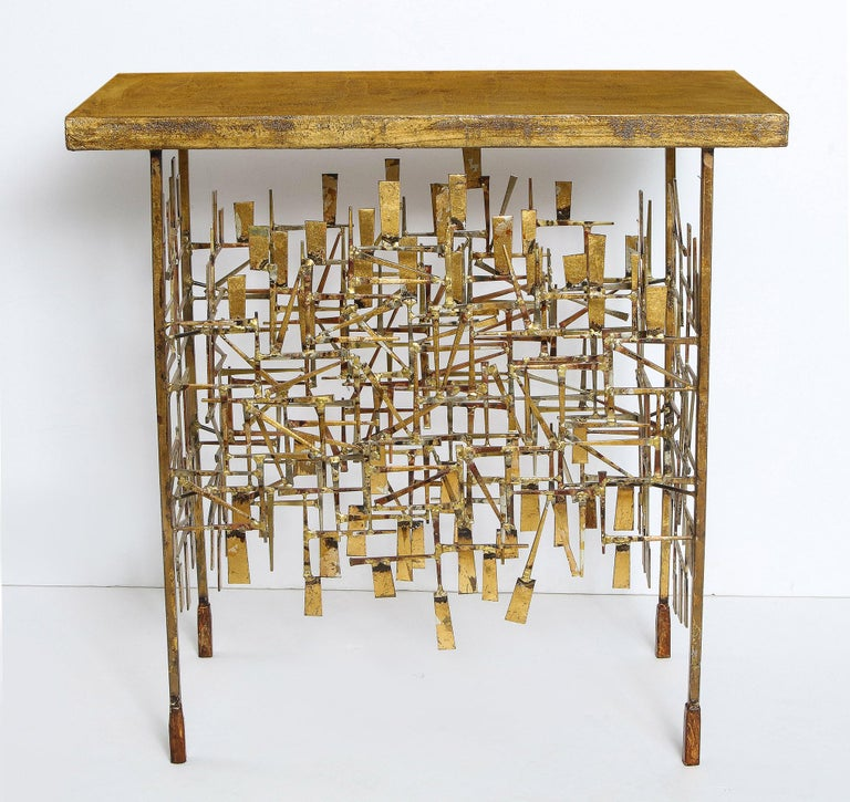 Mid-Century Modern Console Table by William Bowie For Sale