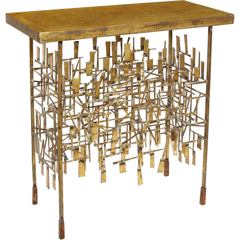 Console Table by William Bowie For Sale