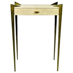 Console Table Circini in Shagreen by Ginger Brown