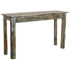 Console Tables Made from Old Carved Panels, 20th Century
