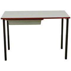Console with Drawer Cite Cansado, circa 1950 by Charlotte Perriand