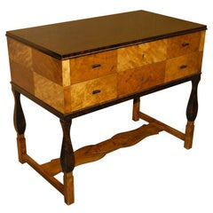 Console with Drawers by Carl Malmsten