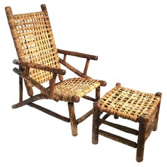 Consolidated Listing for Client (Hickory Chairs x 2, Chair and Ottoman)