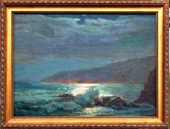 Late 19th Century Maine Seascape