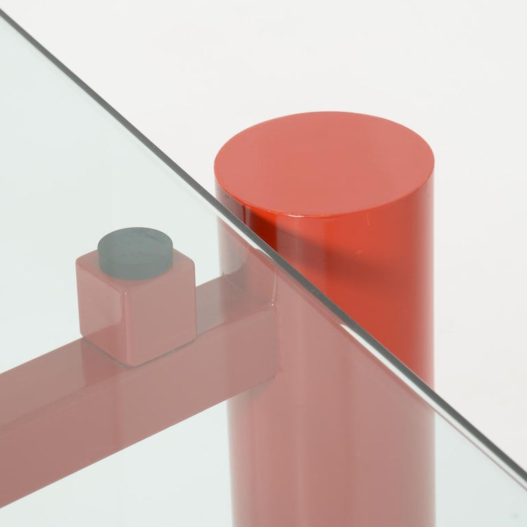 Constructivist Dining Table by Christophe Gevers For Sale 9