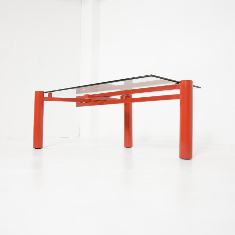 Constructivist Dining Table by Christophe Gevers For Sale 10