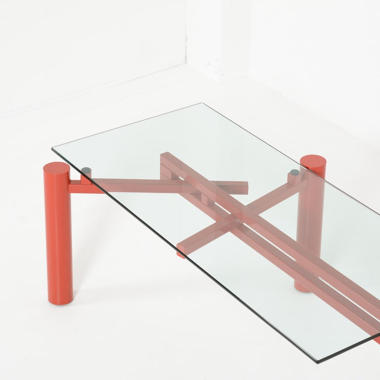 Constructivist Dining Table by Christophe Gevers In Good Condition For Sale In Vlimmeren, BE