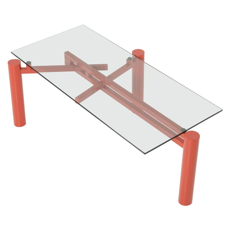 Constructivist Dining Table by Christophe Gevers For Sale