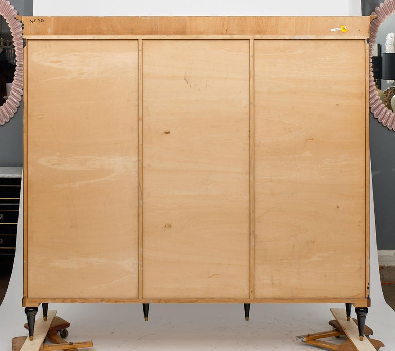 Consulat Style French Antique Bookcase For Sale 4