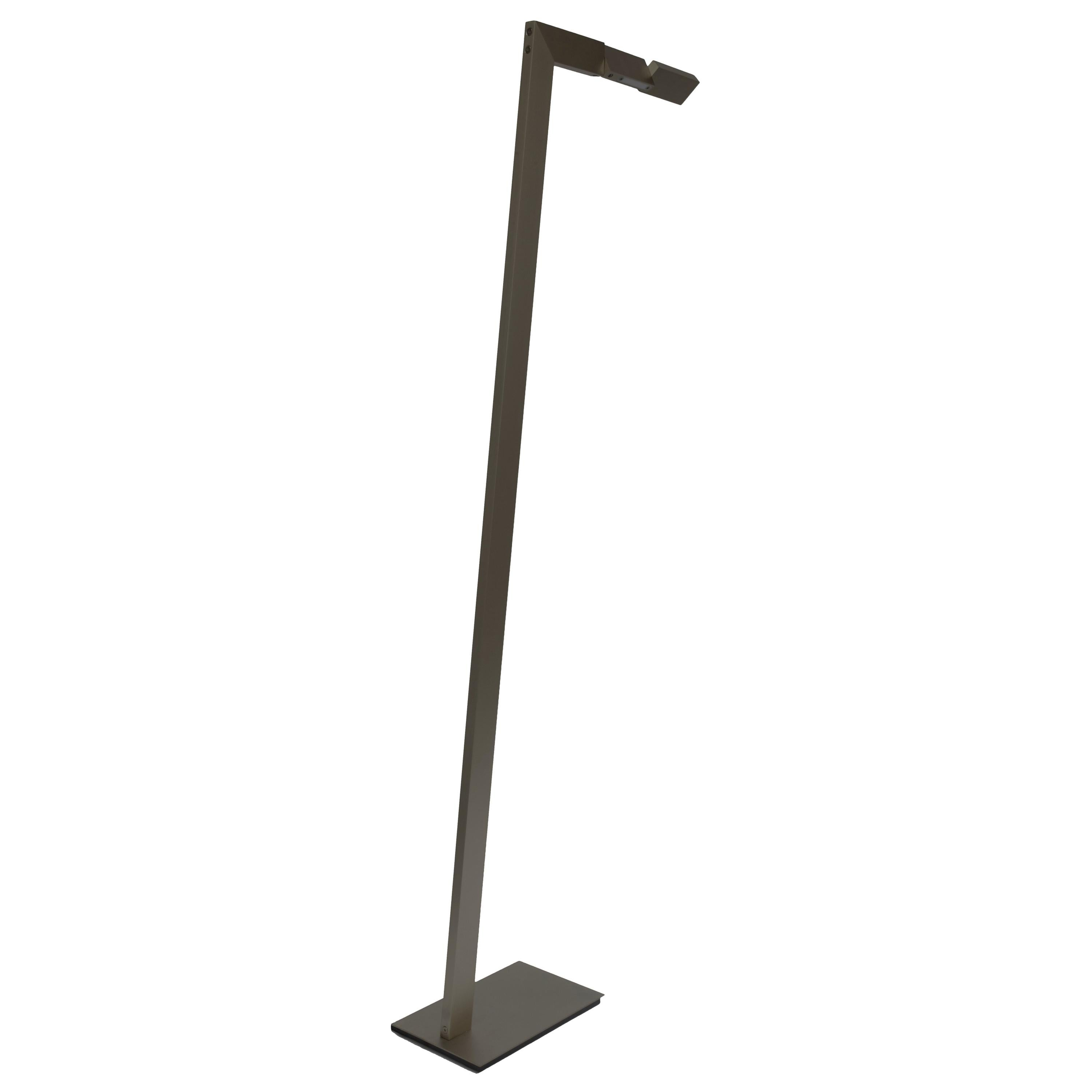 Contemporary 001 Floor Lamp in Blackened Brass by Orphan Work