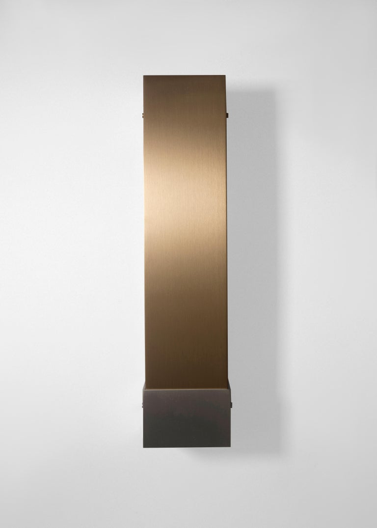 Contemporary 001 Picture Light TT in Brass and Black by Orphan Work, 2018 12
