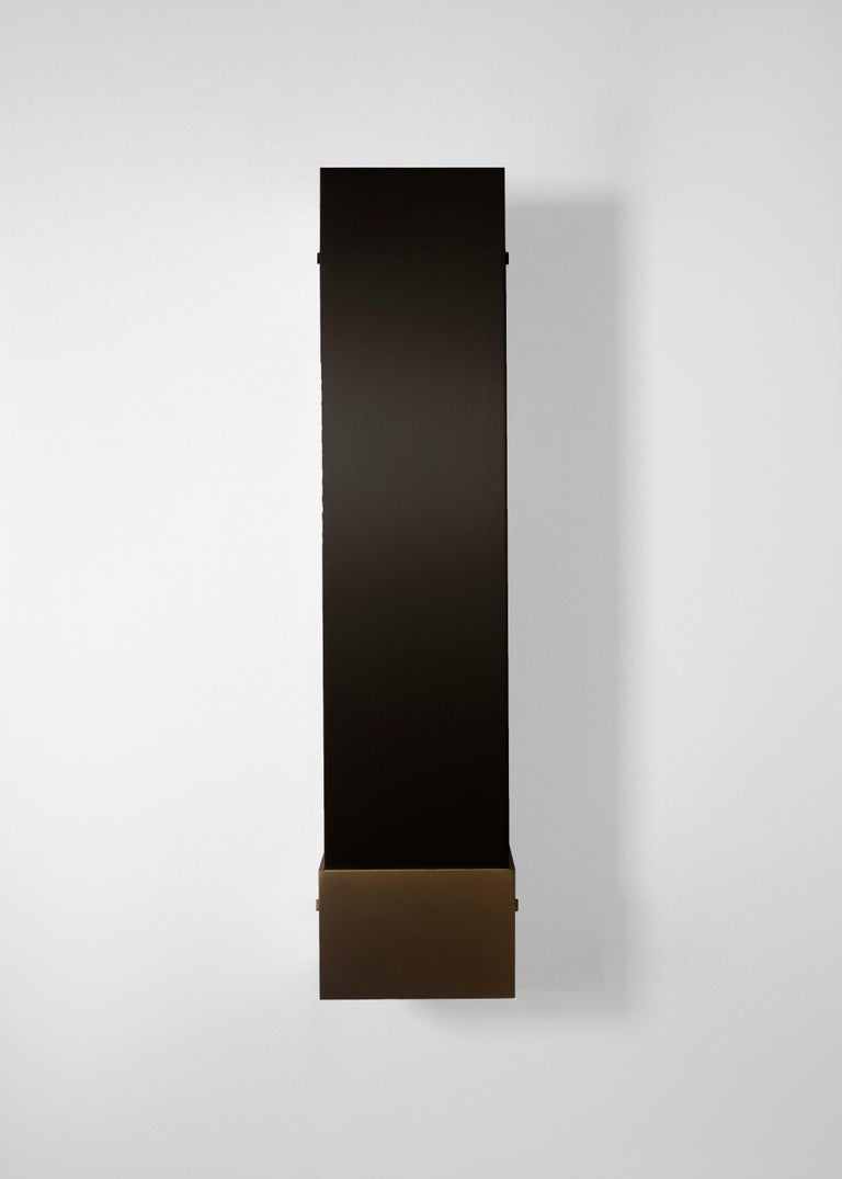Contemporary 001 Picture Light TT in Brass and Black by Orphan Work, 2018 14