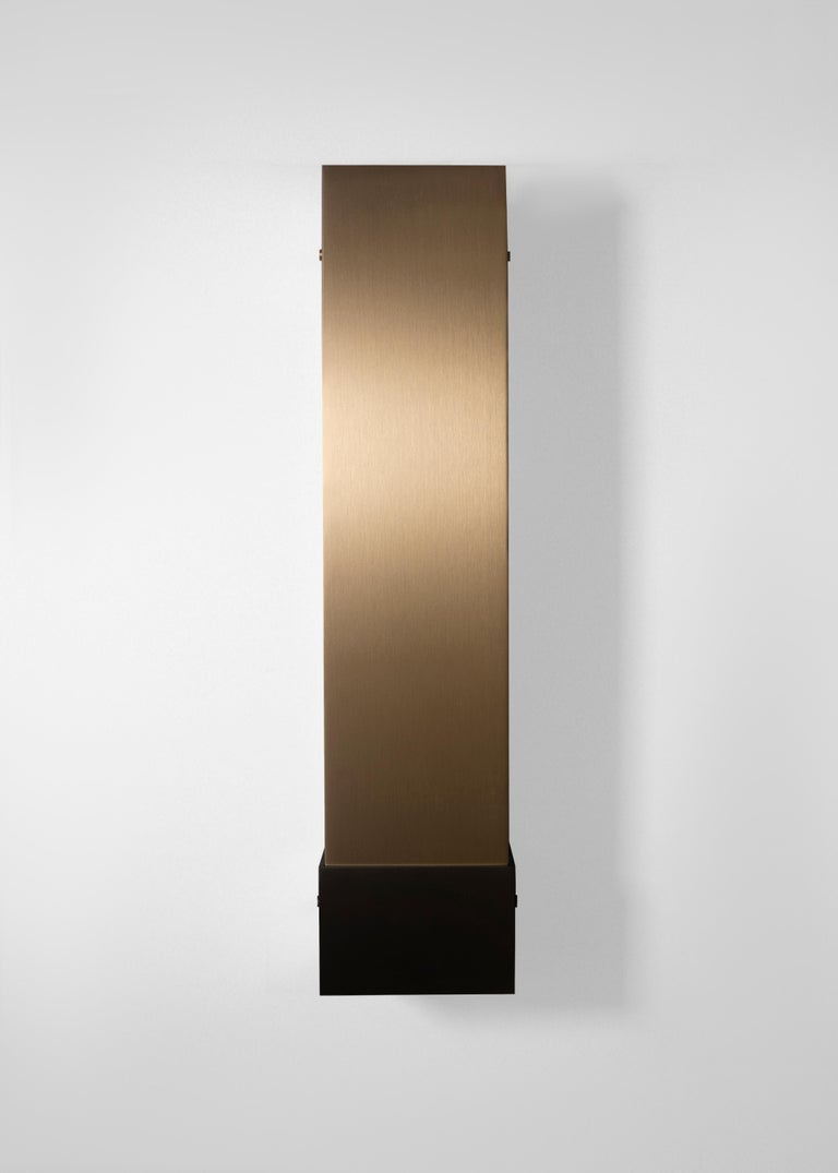 Contemporary 001 Picture Light TT in Brass and Black by Orphan Work, 2018 2