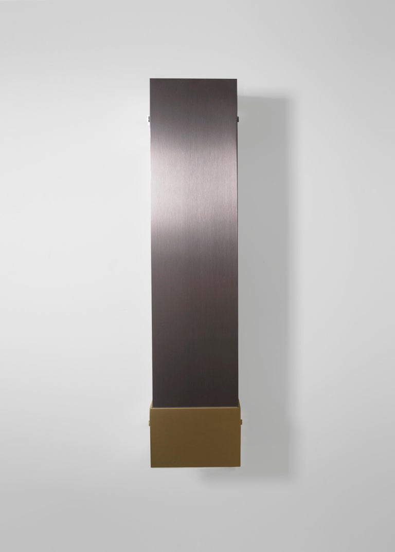 Contemporary 001 Picture Light TT in Brass and Black by Orphan Work, 2018 5