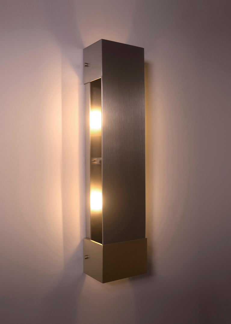 Contemporary 001 Picture Light TT in Brass and Black by Orphan Work, 2018 6