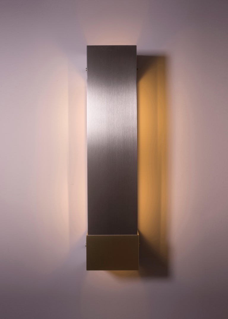 Contemporary 001 Picture Light TT in Brass and Black by Orphan Work, 2018 7