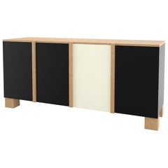 Contemporary 100 Storage in Oak and Black and White by Orphan Work, 2019