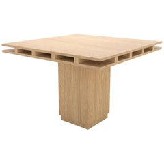 Contemporary 101 Dining Table in Oak by Orphan Work, 2019