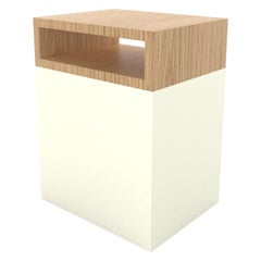 Contemporary 101 Side Table in White by Orphan Work, 2019