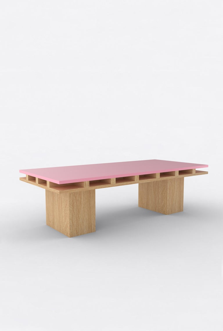 Orphan Work 101C coffee table, 2020