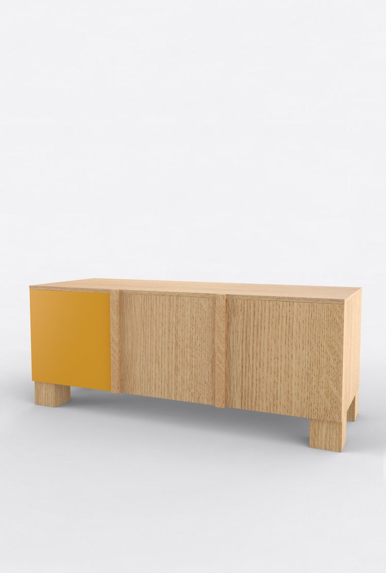 Contemporary 101C Storage in Oak and Color by Orphan Work, 2020 In New Condition For Sale In New York, NY