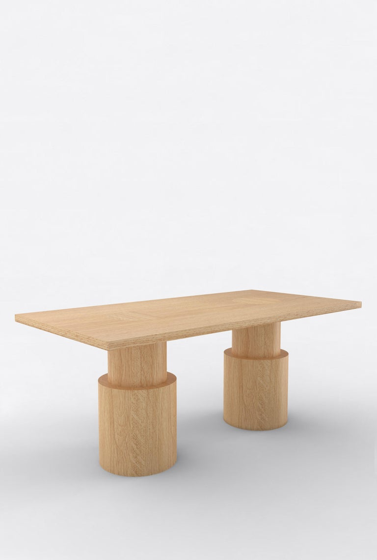Post-Modern Contemporary 102 Dining Table BLK by Orphan Work, 2020 For Sale