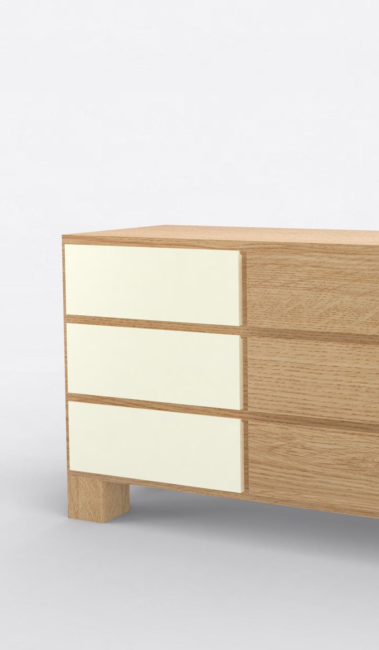 Contemporary 102 Storage in Oak and White by Orphan Work, 2019 In New Condition For Sale In New York, NY