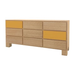 Contemporary 102C Storage in Oak and Color by Orphan Work, 2020