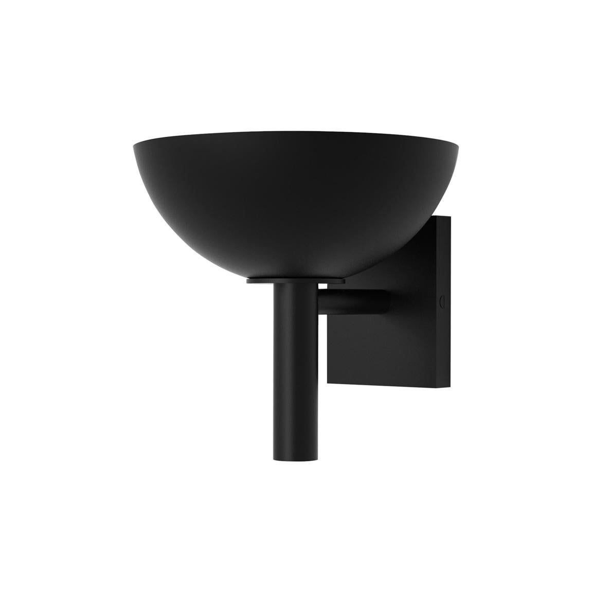 Contemporary 200 Sconce in Blackened Brass by Orphan Work, 2020