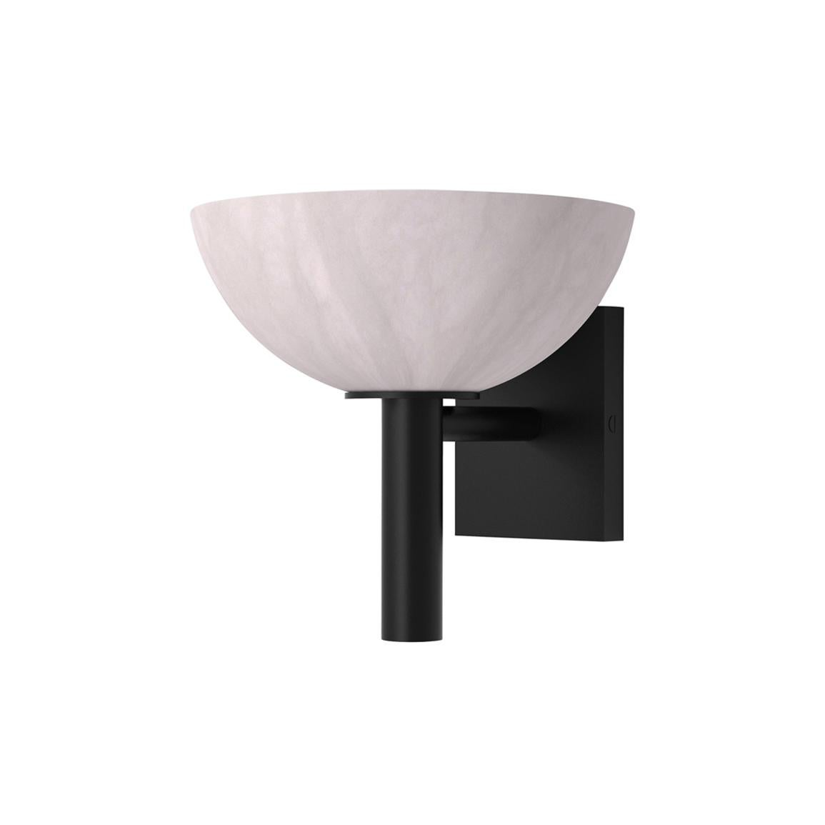 Contemporary 200A Sconce in Alabaster by Orphan Work
