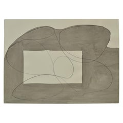 Contemporary Abstract Drawing on Paper by Eduardo Barco