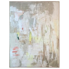 """Contemporary Abstract Painting """"Deep Summer"""" Signed Robin Phillips, Framed"""