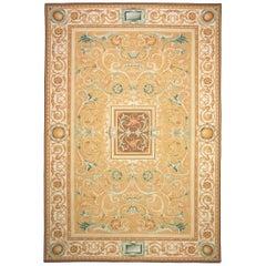 "Contemporary ""Acanthus"" Flat Weave Carpet"