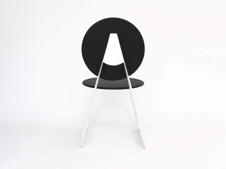 British Contemporary Aeroformed Chair in Inflated Steel by Connor Holland For Sale