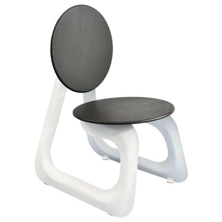 Contemporary Aeroformed Chair in Inflated Steel by Connor Holland For Sale