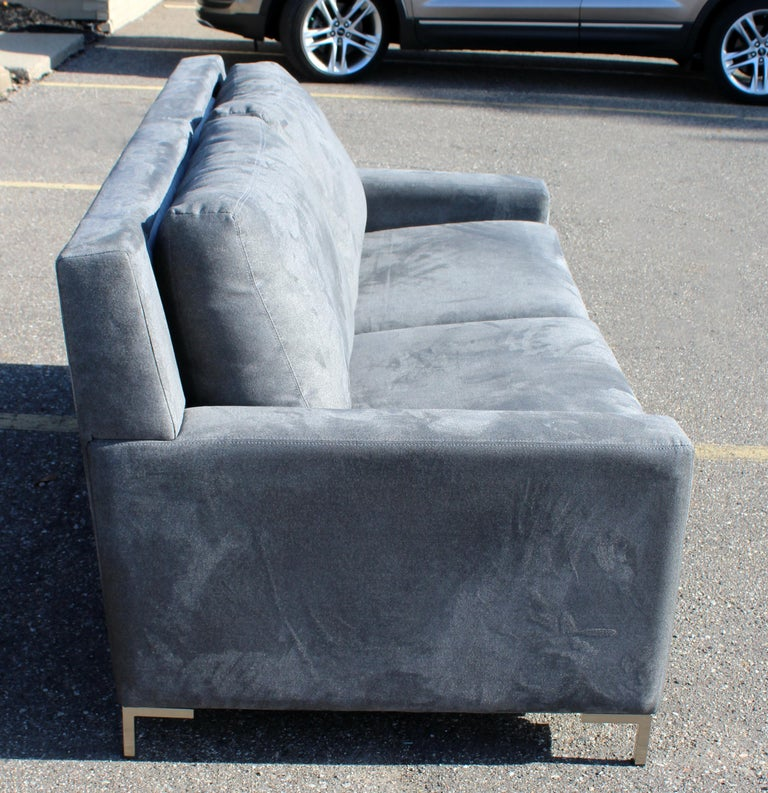 Contemporary American Leather Co. Comfort Sleeper Sofa 1