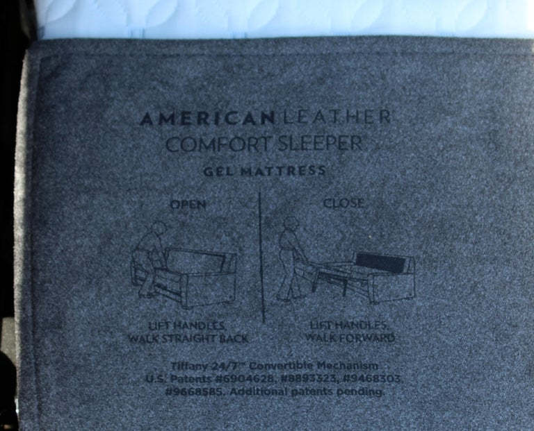 Contemporary American Leather Co. Comfort Sleeper Sofa 2