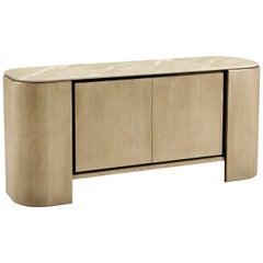 Contemporary American White Oak Buffet Sideboard