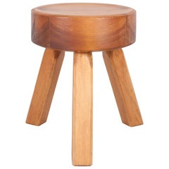 Contemporary AML Stool, Solid oiled Pine, Frama Permanent Collection