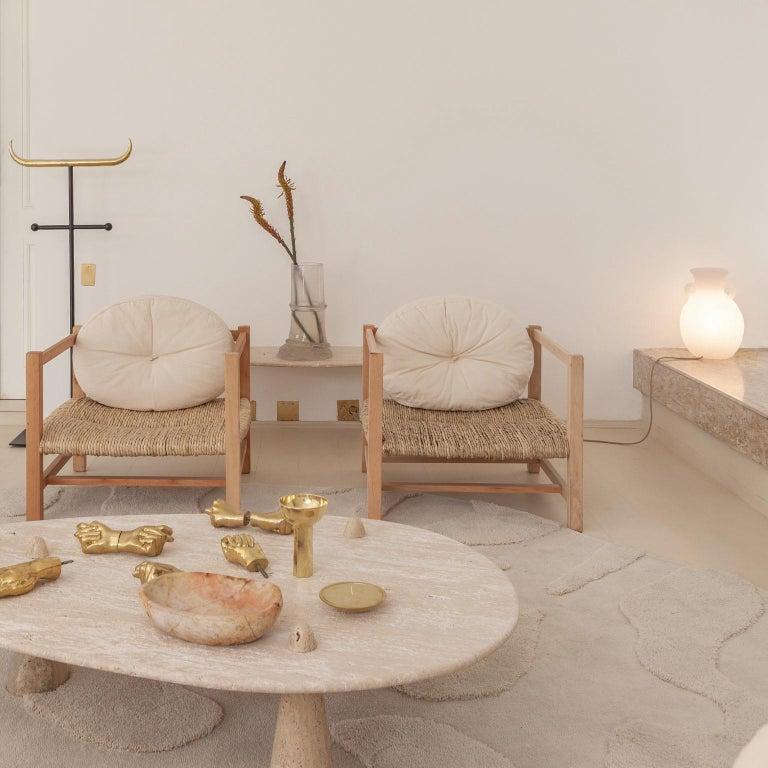 Brazilian Contemporary Amphora Lamp in Resin For Sale