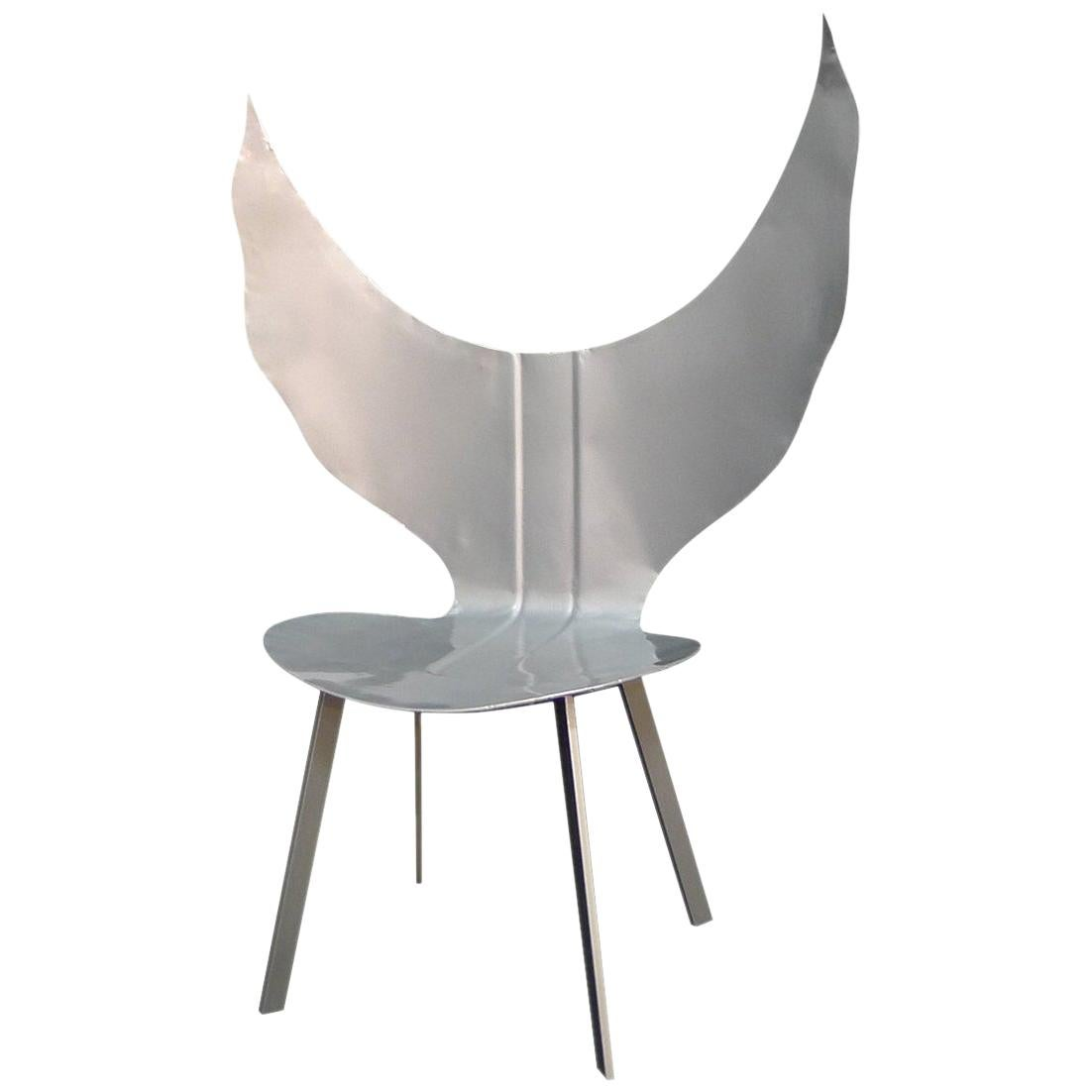 """Contemporary Angel Chair from """"Cars Never Die"""" Collection by Alê Jordão, Brazil"""