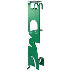 Contemporary Anodised Aluminium Coat Stand by Soft Baroque