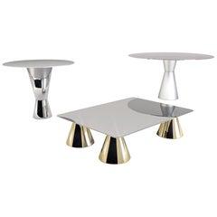 Contemporary Arbat Table in Aluminium by Altreforme