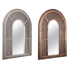 Contemporary Arch Wall Mirror in Moroccan Style