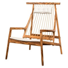 Contemporary Armchair in Brazilian Hardwood by Ricardo Graham Ferreira, 2