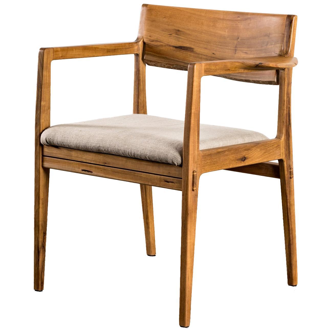 Armchair in Brazilian Hardwood by Ricardo Graham Ferreira